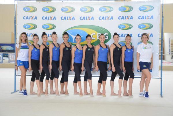 Seleção Brasileira de GR inicia temporada no Centro de Treinamento em Aracaju