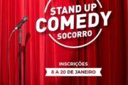 Prefeitura de Socorro promoverá concurso de Stand Up Comedy