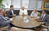 Governador visita conselheiro Ulices Andrade e prevê gestão exitosa no TCE