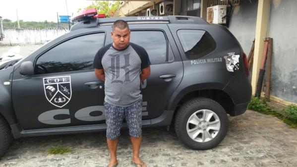 O COE efetuou a prisão de José Ricardo Mendes da Silva, que possuía mandado de prisão em aberto pelo crime de homicídio qualificado