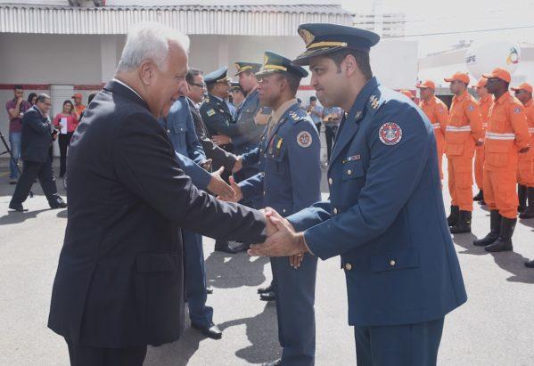12 oficiais do Corpo de Bombeiros Militar de Sergipe foram promovidos (foto: Marcelle Cristinne/ASN)
