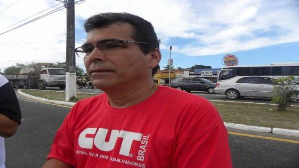 Presidente da CUT/SE, Rubens Marques (foto: arquivo/CUT