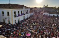 Em São Cristóvão, milhares de fiéis participam da Romaria de Senhor dos Passos