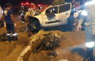 Uma pessoa morre e outras três ficam feridas em acidente na Tancredo Neves