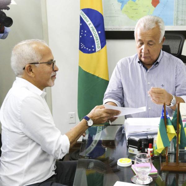 Governador libera terreno para construção de escola municipal no Porto D'Anta