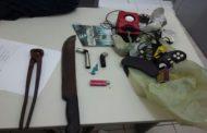 Polícia Militar prende dois homens que furtavam fiação elétrica do viaduto do Detran