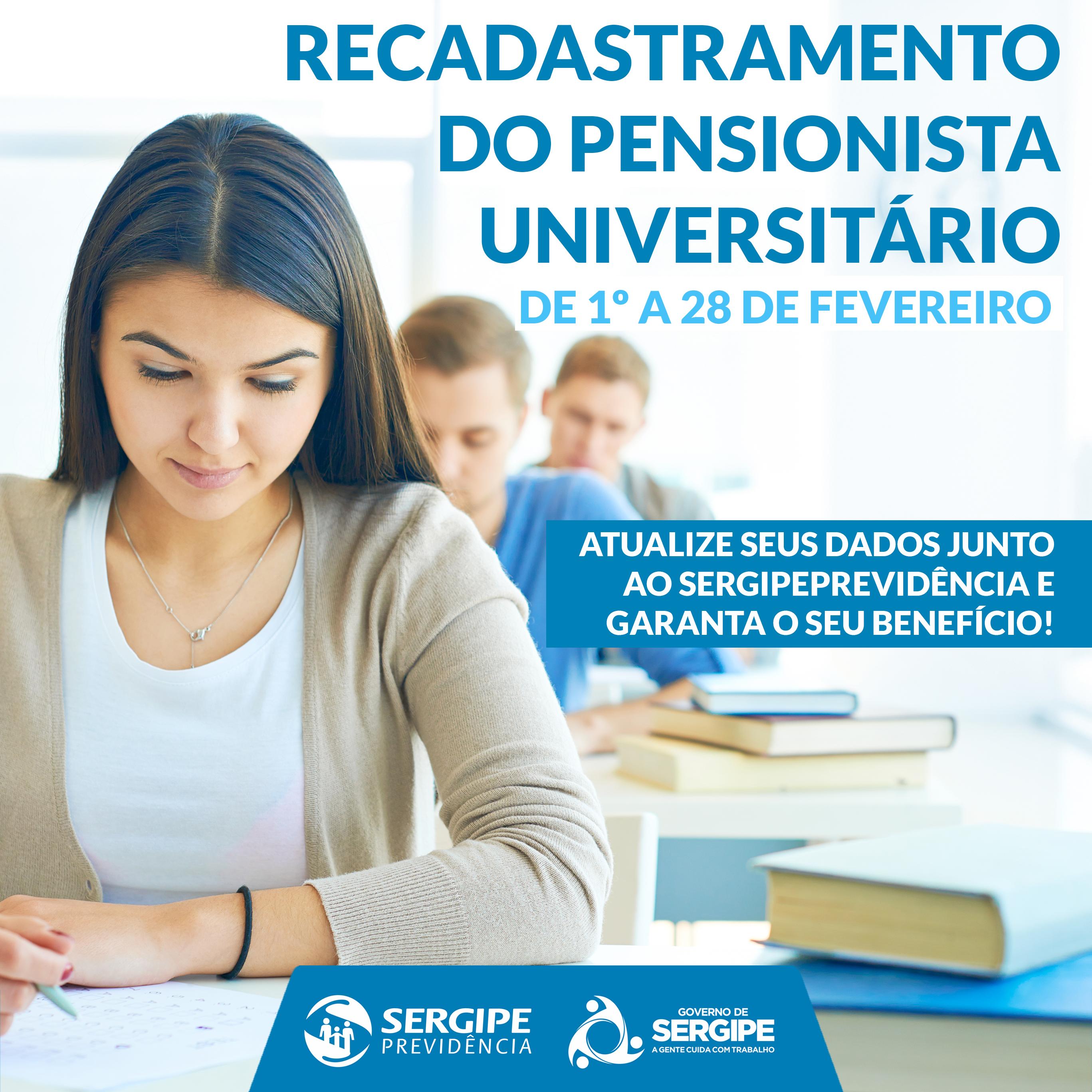 Sergipeprevid ncia convoca pensionistas universit rios for Pension para universitarios