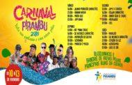 Prefeitura de Pirambu divulga Programação Oficial do Carnaval 2018