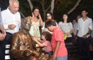 Jackson Barreto e Eliane Aquino inauguram o Monumento Marcelo Déda