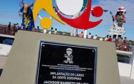 População festeja inauguração do Largo da Gente Sergipana