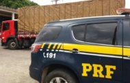 Caminhão roubado em Salvador é recuperado pela PRF em São Cristóvão