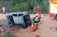 Motorista da Prefeitura de Estância morre carbonizado após veículo capotar