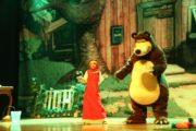 Musical infantil 'Masha e o Urso' será apresentado no Tobias Barreto