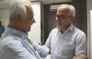 Prefeito de Aracaju recebe visita do ex-governador Jackson Barreto