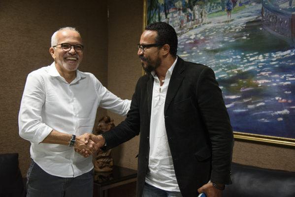 Edvaldo Nogueira anuncia o novo presidente da Funcaju