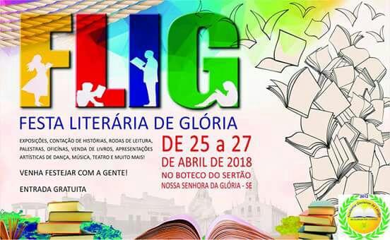 Nossa Senhora da Glória sedia a primeira Festa Literária
