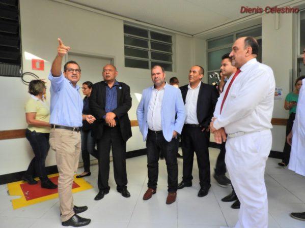 Membros da CPI da Saúde visitam Hospital Santa Isabel e impetram mandado contra o Hospital de Cirurgia