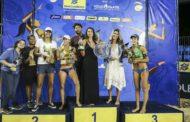 Sergipana é vice-campeã do Superpraia de vôlei de praia em Brasília