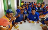 Reconhecimento e gratidão marcam café da manhã no Dia do Gari em São Cristóvão