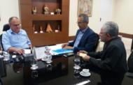 Prefeito Marcos Santana se reúne com o Governador Belivaldo Chagas e reforça pedido para obras de infraestrutura em São Cristóvão