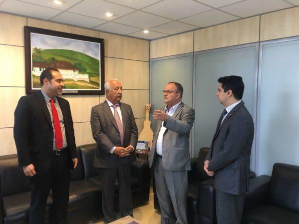 Em Brasília, Belivaldo busca recursos para finalizar Terminal Pesqueiro