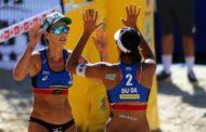 Duda/Ágatha vence suíças e repete ouro em etapa brasileira, desta vez em Santa Catarina