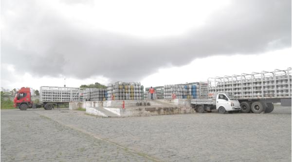 Polícia Civil e Ministério Público Estadual realizam fiscalização em revendas de gás para verificação de preços na capital