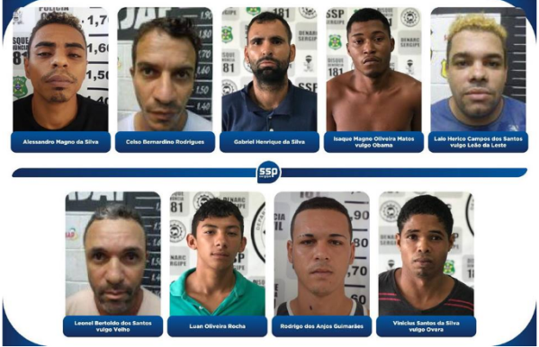 Nove pessoas são presas e 165kg de drogas apreendidas na Operação Xeque-Mate