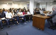Estudantes  do curso de Direito participam de sessão do Tribunal de Contas
