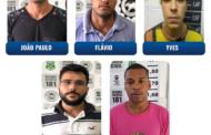 Denarc prende quatro investigados por tráfico em Aracaju