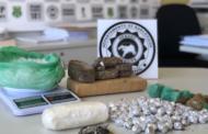 Polícia Civil prende suspeito de tráfico de drogas no município de São Cristóvão