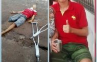 Deficiente físico é executado a tiros em via pública no Tijuquinha