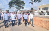 Governador e prefeito visitam obras no Augusto Franco, Aeroporto e 17 de Março