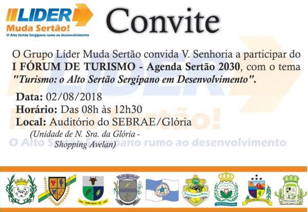 Movimento Muda Sertão realiza fórum de turismo sergipano