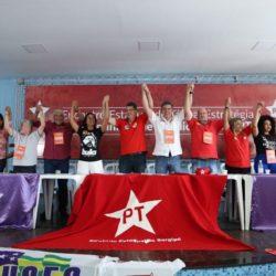 PT realiza encontro, indica candidatos e oficializa apoio a Belivaldo Chagas