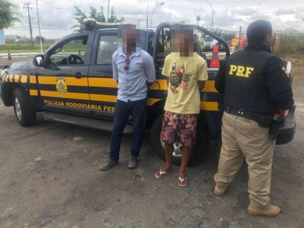 PRF detém passageiro com mandado de prisão em aberto em Itabaiana