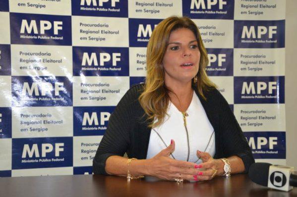Eunice Dantas assume cargo de procuradora-chefe do MPF/SE