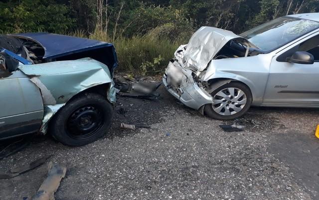 Motorista embriagado e inabilitado é preso após acidente na Rodovia João Bebe Água