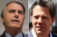 Pesquisa MDA/CNT indica empate técnico entre Bolsonaro e Haddad
