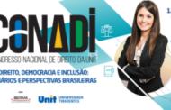 Congresso Nacional de Direito inicia hoje em Aracaju
