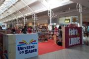 Feira literária Universo do Saber chega ao Shopping Jardins