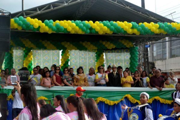 Desfile cívico de Capela retrata Independência e Cidadania