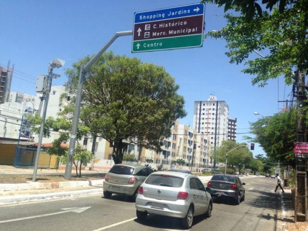 SMTT fará desvios no trânsito da Adélia Franco neste sábado