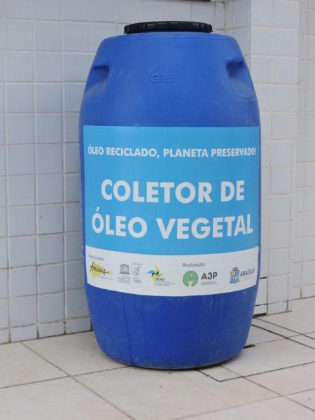 Secretaria de Meio Ambiente oferece ponto de descarte de óleo de cozinha saturado