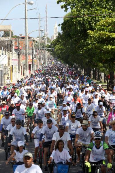 Prefeitura de Aracaju promove mais uma edição do Passeio Ciclístico da Primavera