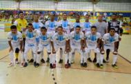 Em Itaporanga, seleção de São Cristóvão estreia com empate na Copa TV Sergipe de Futsal