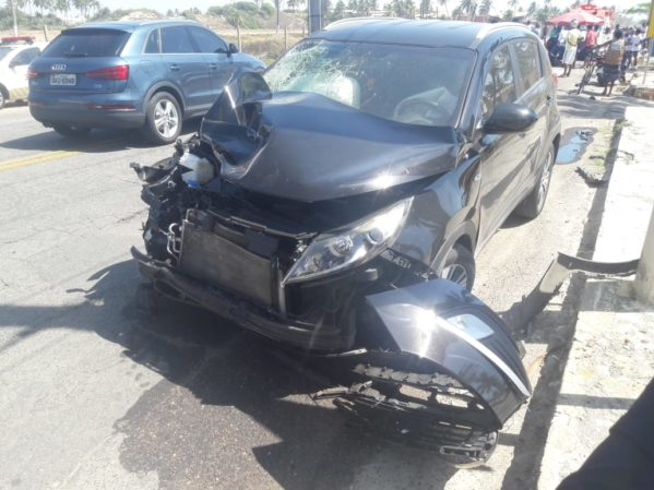 Polícia identifica suspeito de causar acidente que matou casal na Zona de Expansão no último fim de semana