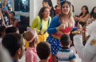 Oncologia do Huse monta um salão de festas para celebrar o Dia da Criança
