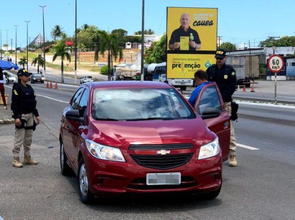 PRF encerra operação Nossa Senhora Aparecida sem registro de mortes e com redução de 75% dos acidentes