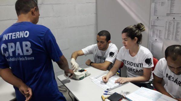 Presos puderam votar nas cadeias de Areia Branca e Socorro
